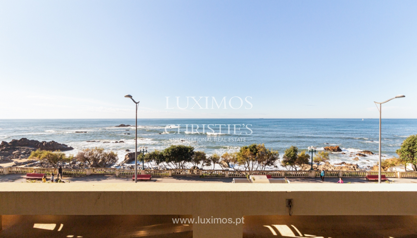 Apartamento de lujo en primera línea de mar, en venta, Foz, Porto, Portugal_157481