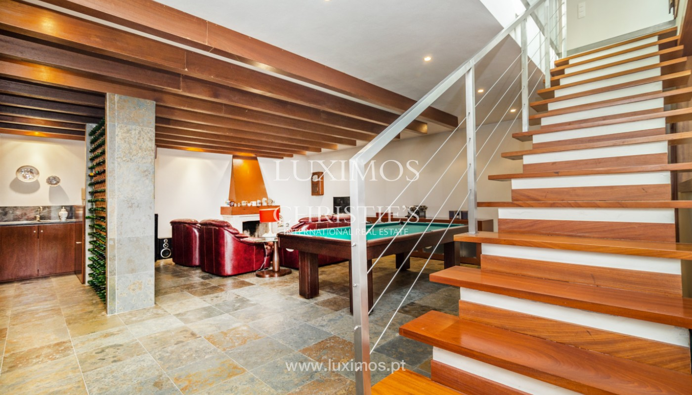 Modern villa with pool and garden, for sale, in Canidelo, Porto, Portugal_157497