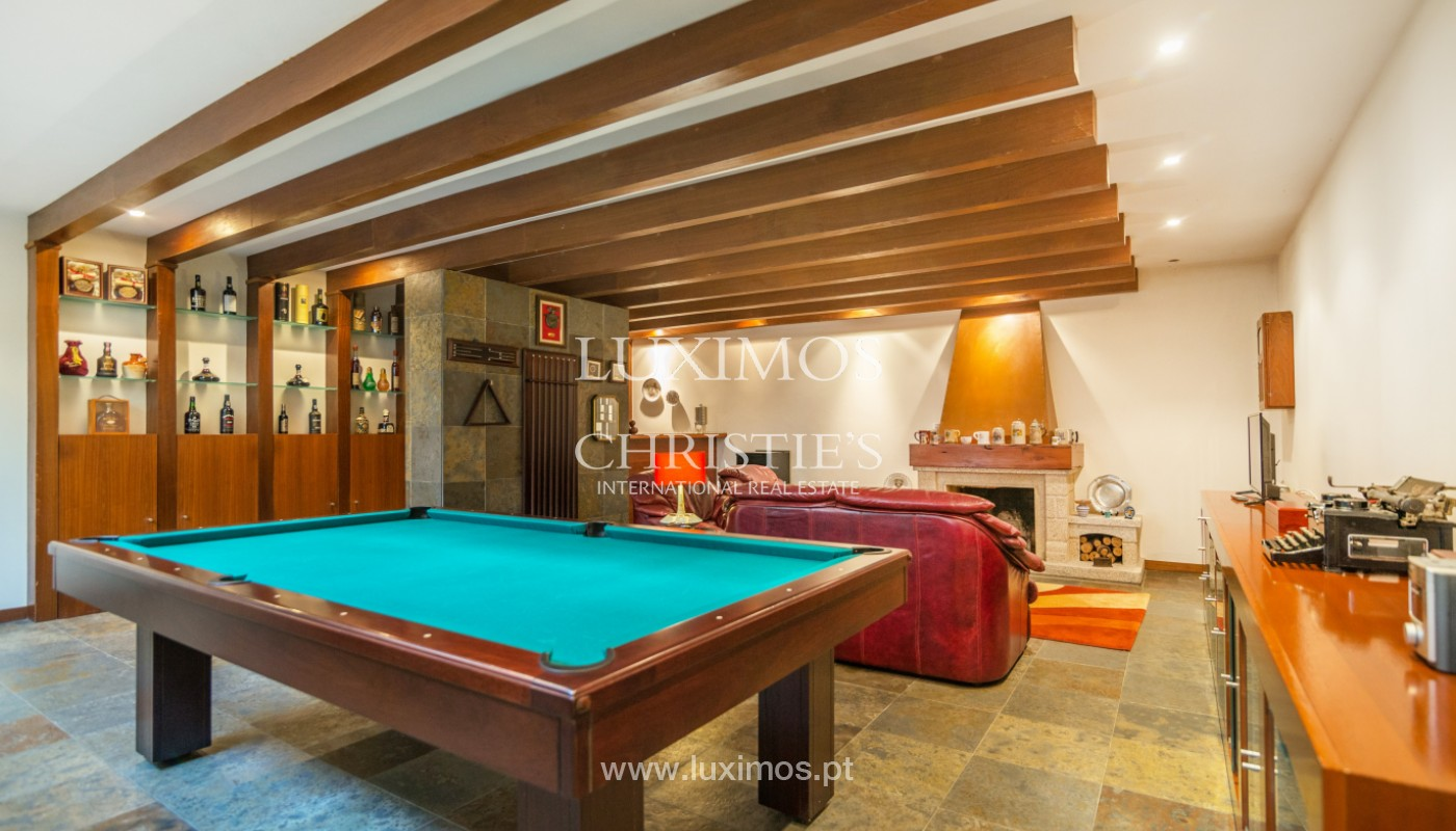 Modern villa with pool and garden, for sale, in Canidelo, Porto, Portugal_157498