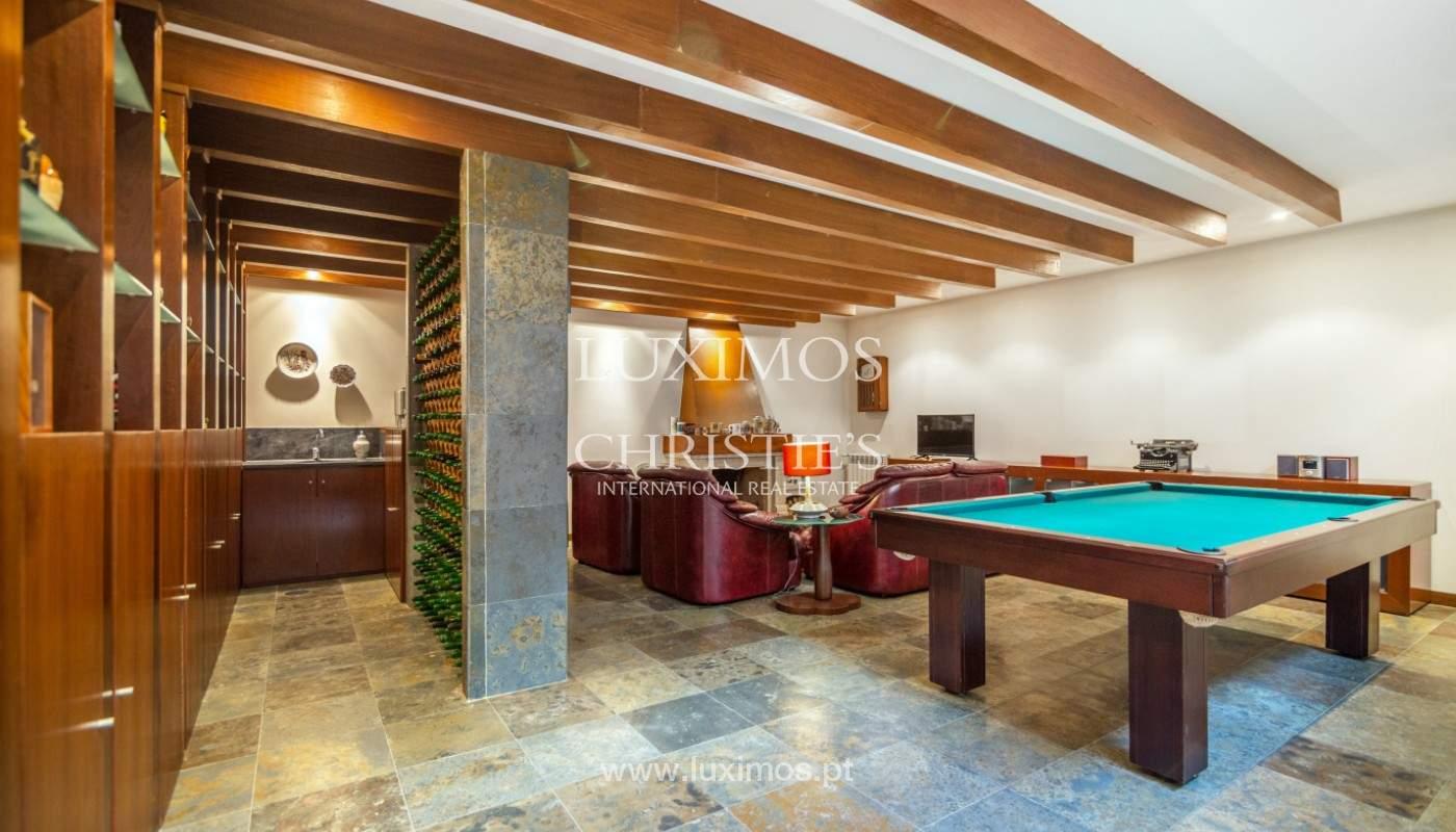 Moderne Villa mit Pool und Garten, zu verkaufen, in Canidelo, Porto, Portugal_157499