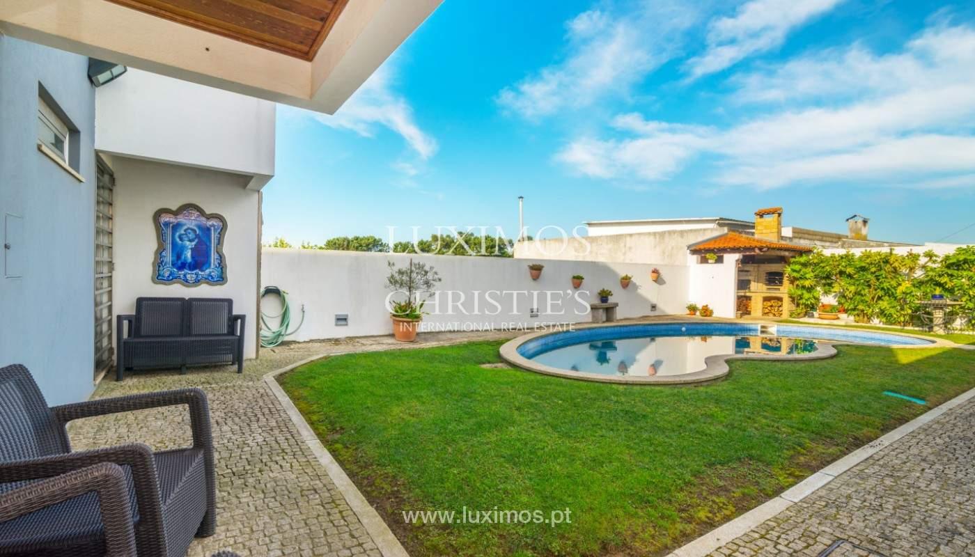 Moderne Villa mit Pool und Garten, zu verkaufen, in Canidelo, Porto, Portugal_157501