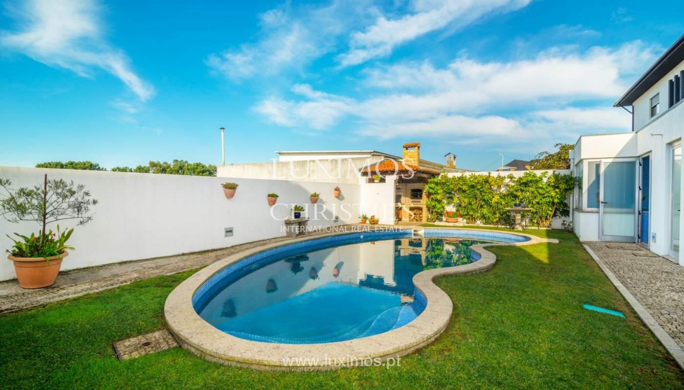 Moderne Villa mit Pool und Garten, zu verkaufen, in Canidelo, Porto, Portugal_157502
