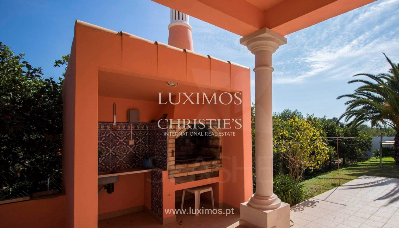 Quinta com moradia V4 e amplo terreno, Bolqueime, Algarve_158006