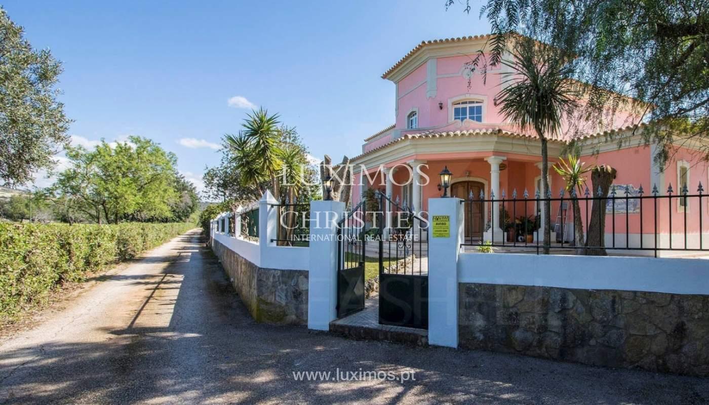 Bauernhof mit 4-Schlafzimmer-Villa und großem Grundstück, Bolqueime, Algarve_158012