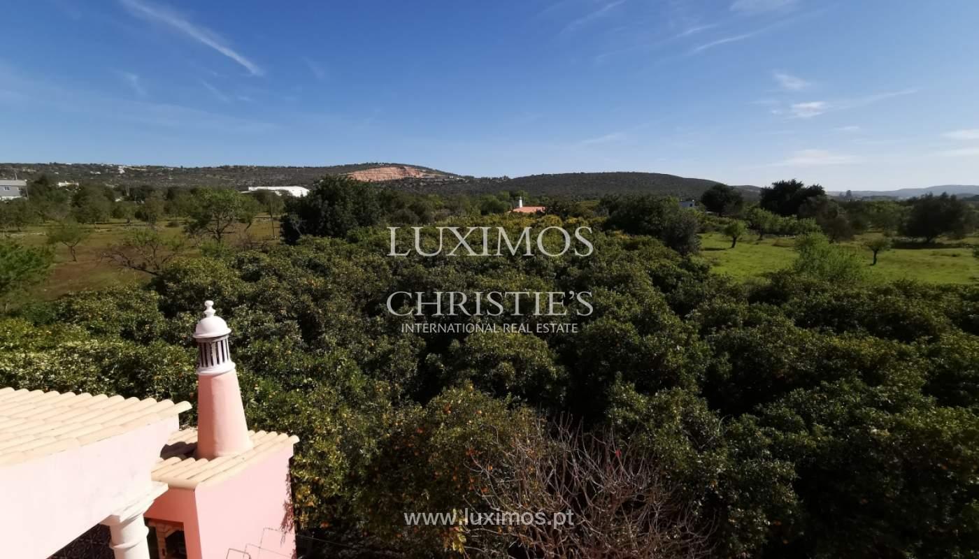 Ferme avec villa de 4 chambres et grand terrain, Bolqueime, Algarve_158046