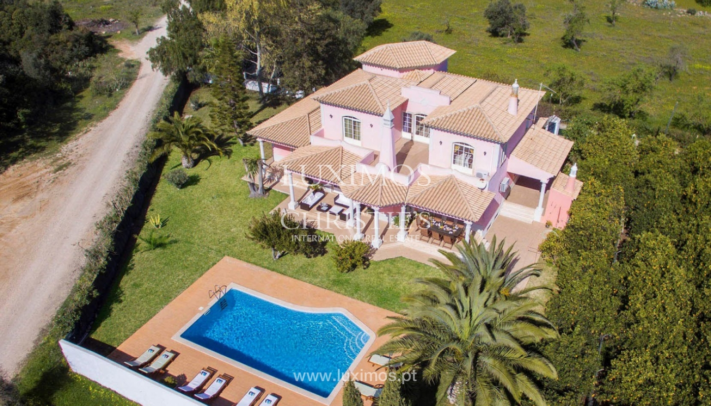 Bauernhof mit 4-Schlafzimmer-Villa und großem Grundstück, Bolqueime, Algarve_158087