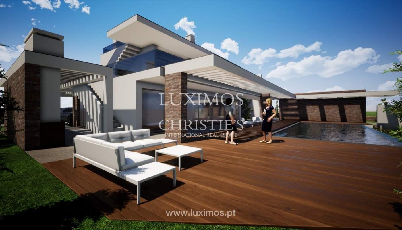 Villa moderna, con piscina y vista al mar, Carvoeiro, Algarve_158097