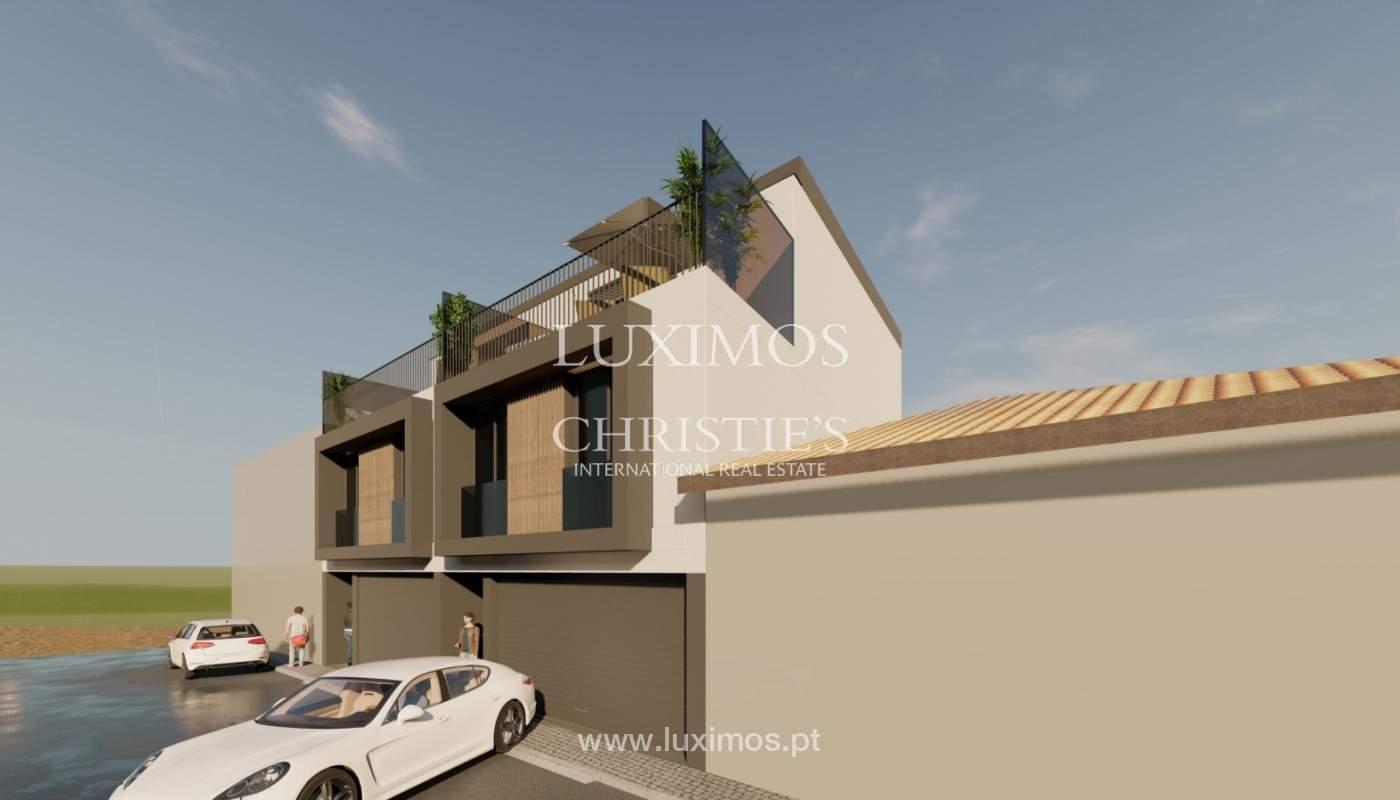 Maison neuve de 4 chambres avec jardin, à vendre, à Boavista, Porto, Portugal_158292