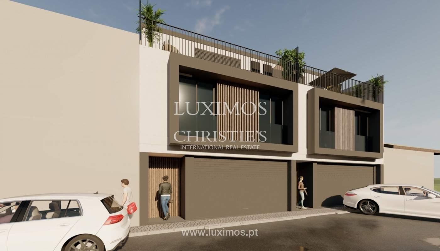 Maison neuve de 4 chambres avec jardin, à vendre, à Boavista, Porto, Portugal_158294