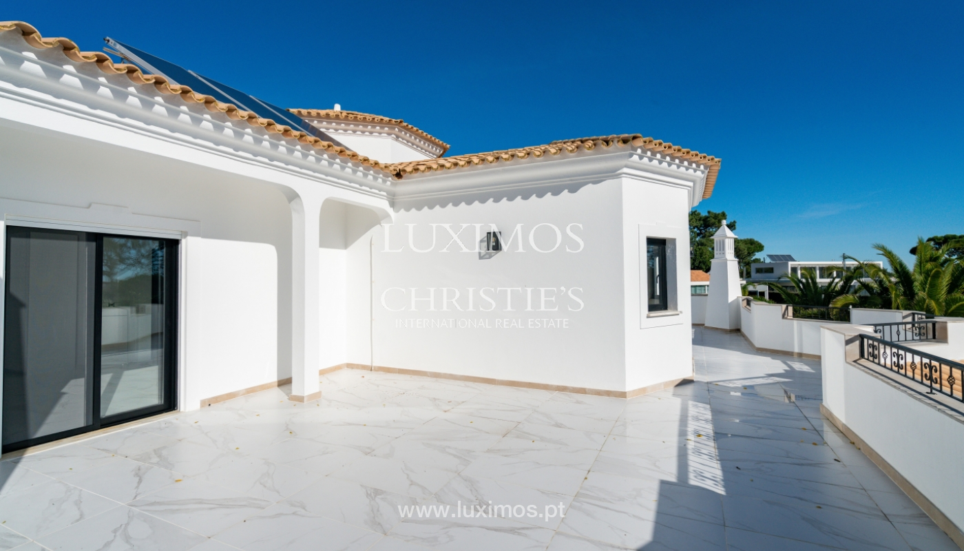 Modern 4 bedroom villa, with swimming pool, Quarteira, Algarve_158676