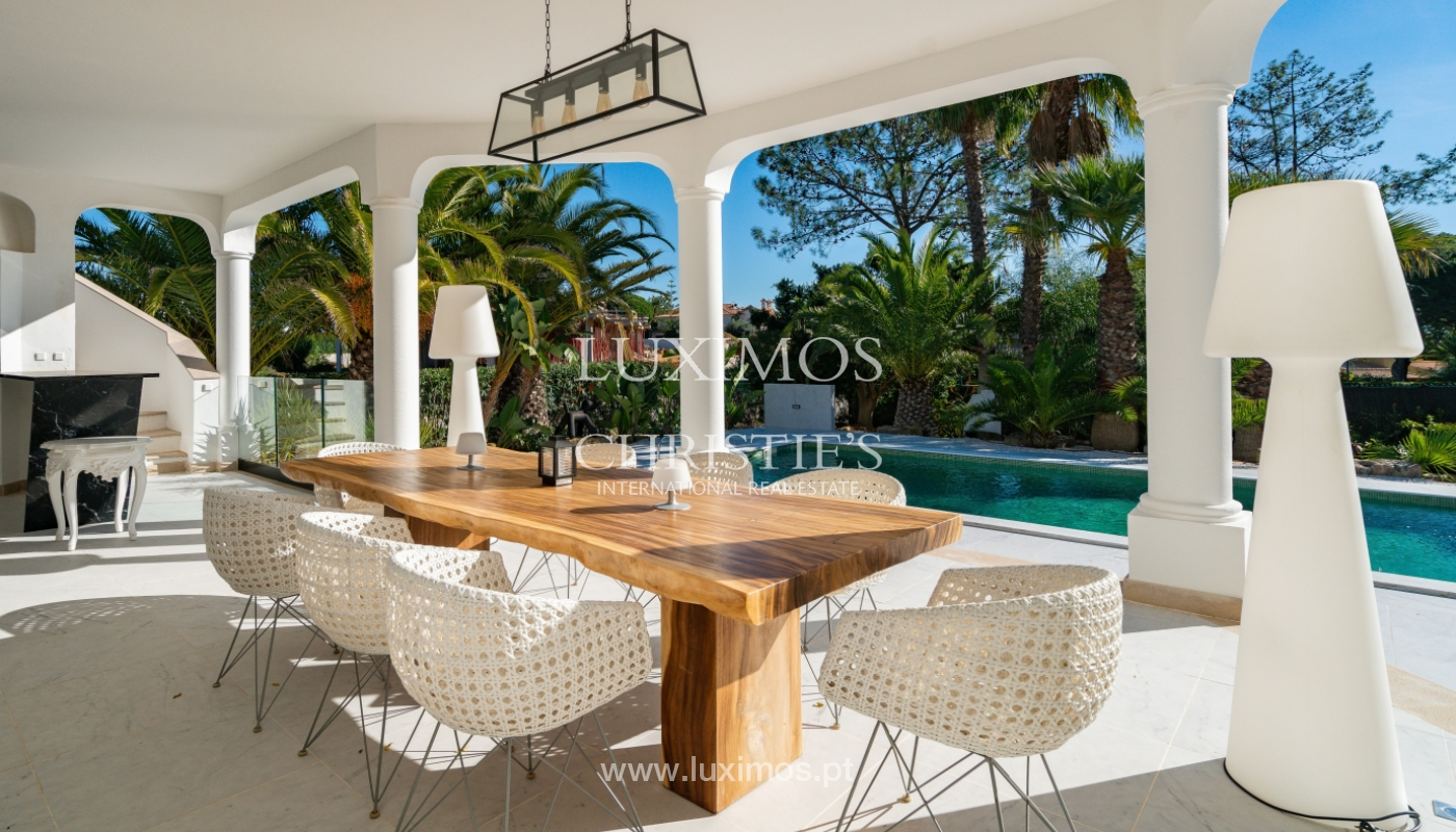 Modern 4 bedroom villa, with swimming pool, Quarteira, Algarve_158692