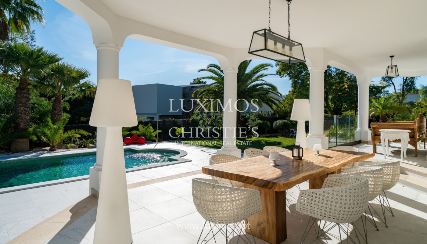 Modern 4 bedroom villa, with swimming pool, Quarteira, Algarve_158694