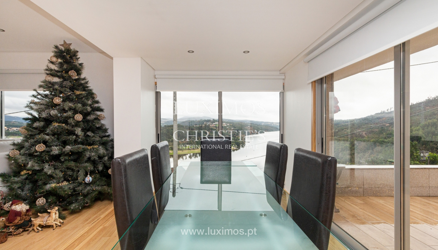 Refurbished house with pool and river views, for sale, in Melres, Porto, Portugal_158763