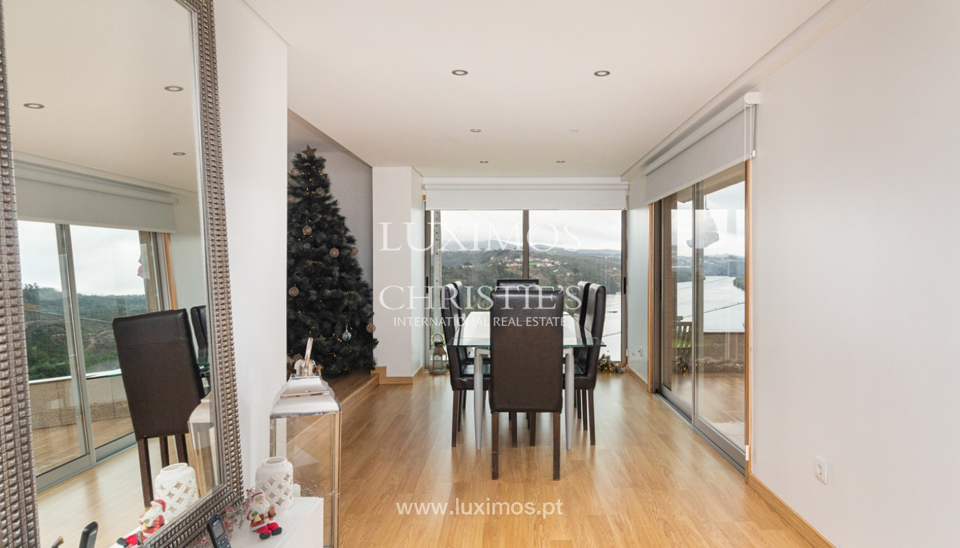 Refurbished house with pool and river views, for sale, in Melres, Porto, Portugal_158765