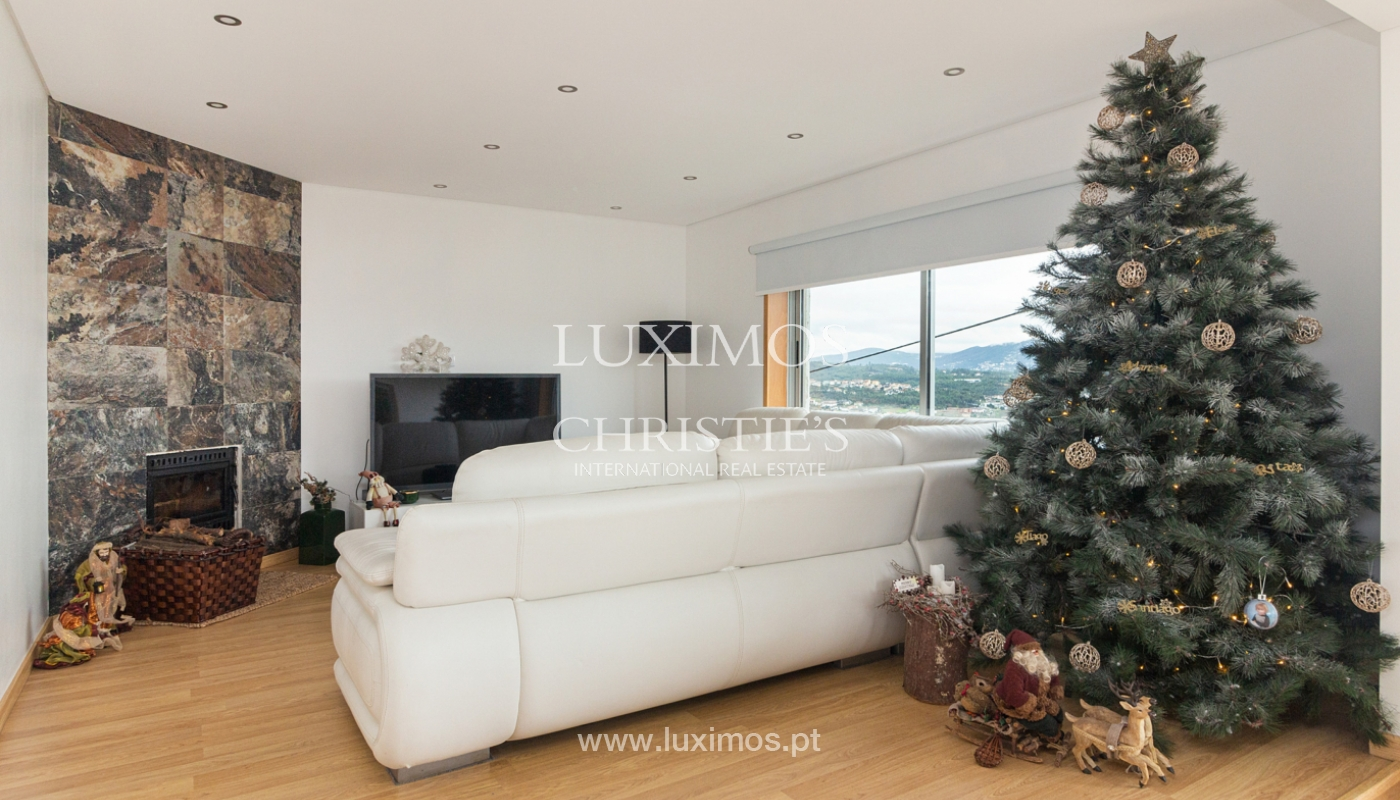 Refurbished house with pool and river views, for sale, in Melres, Porto, Portugal_158766