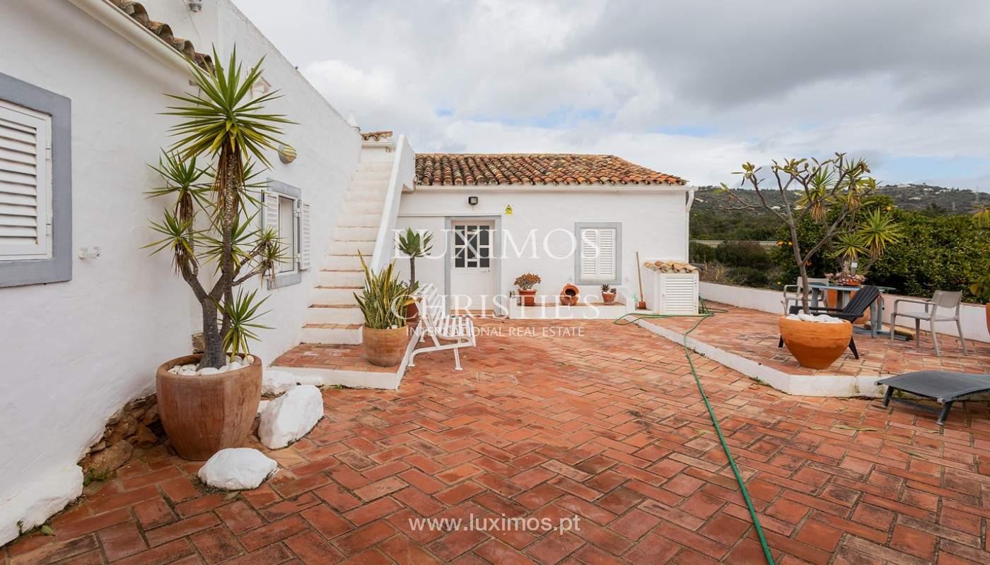 Moradia rústica com piscina e vista serra, Estói, Faro, Algarve_159143