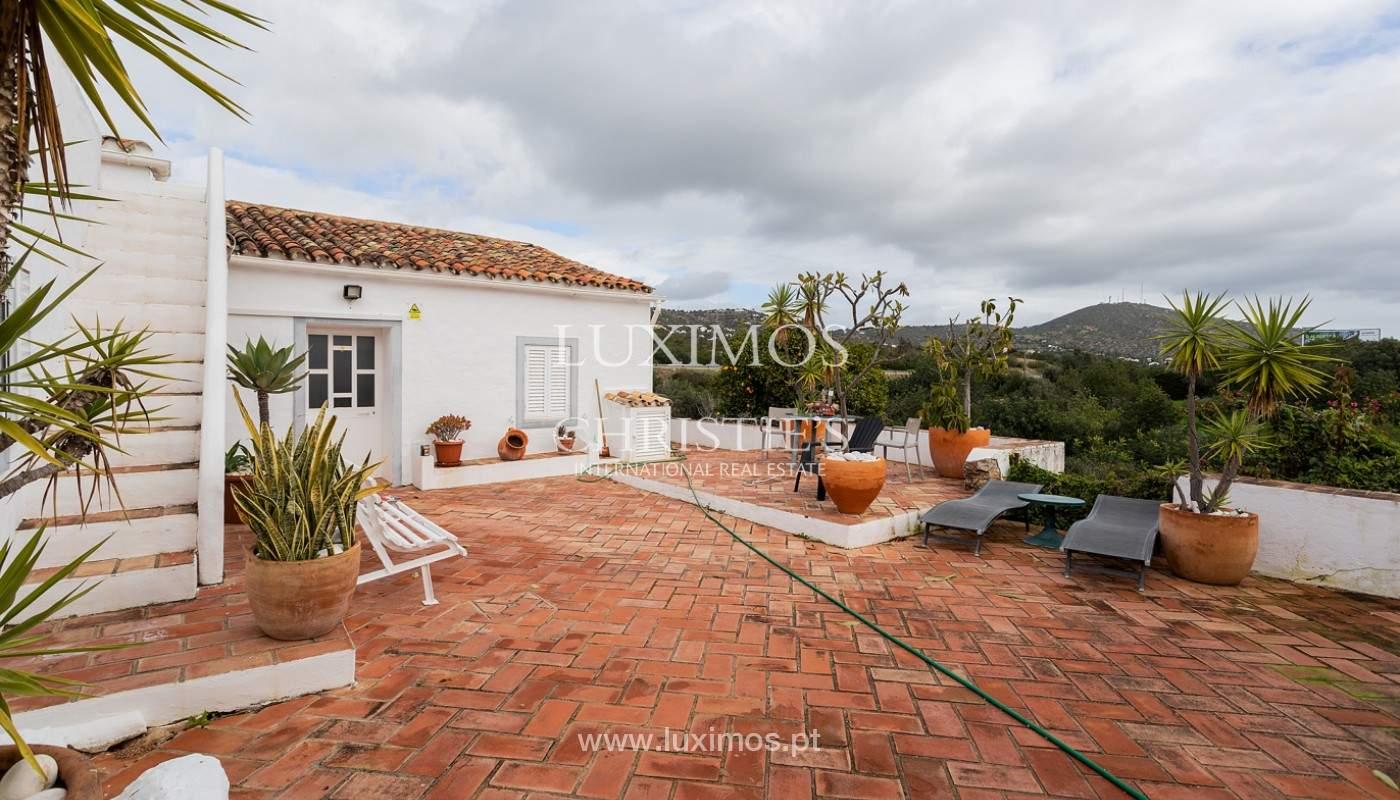 Moradia rústica com piscina e vista serra, Estói, Faro, Algarve_159144