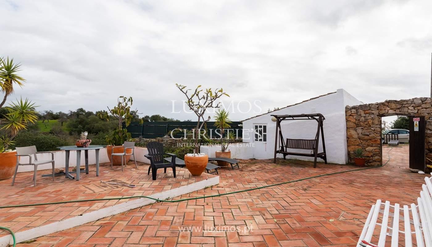 Moradia rústica com piscina e vista serra, Estói, Faro, Algarve_159145
