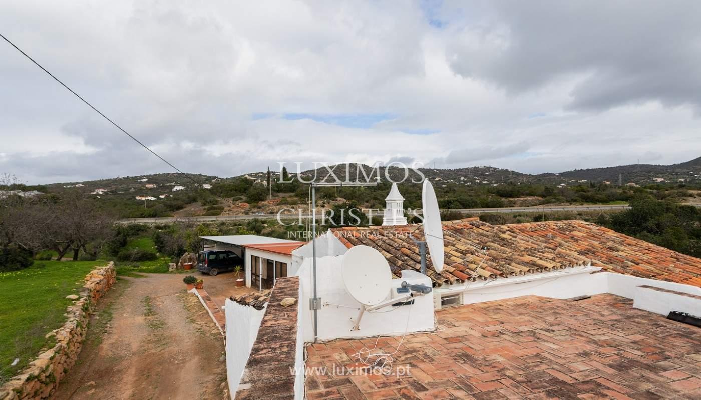 Moradia rústica com piscina e vista serra, Estói, Faro, Algarve_159149
