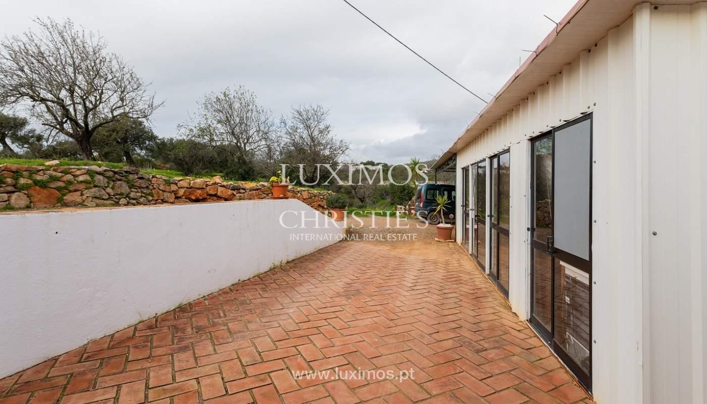Moradia rústica com piscina e vista serra, Estói, Faro, Algarve_159152