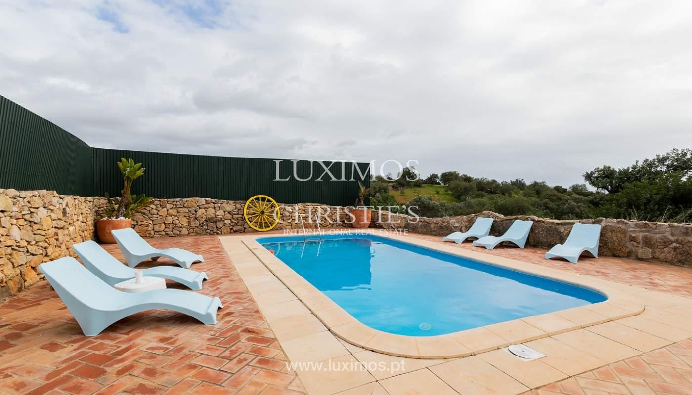 Moradia rústica com piscina e vista serra, Estói, Faro, Algarve_159157