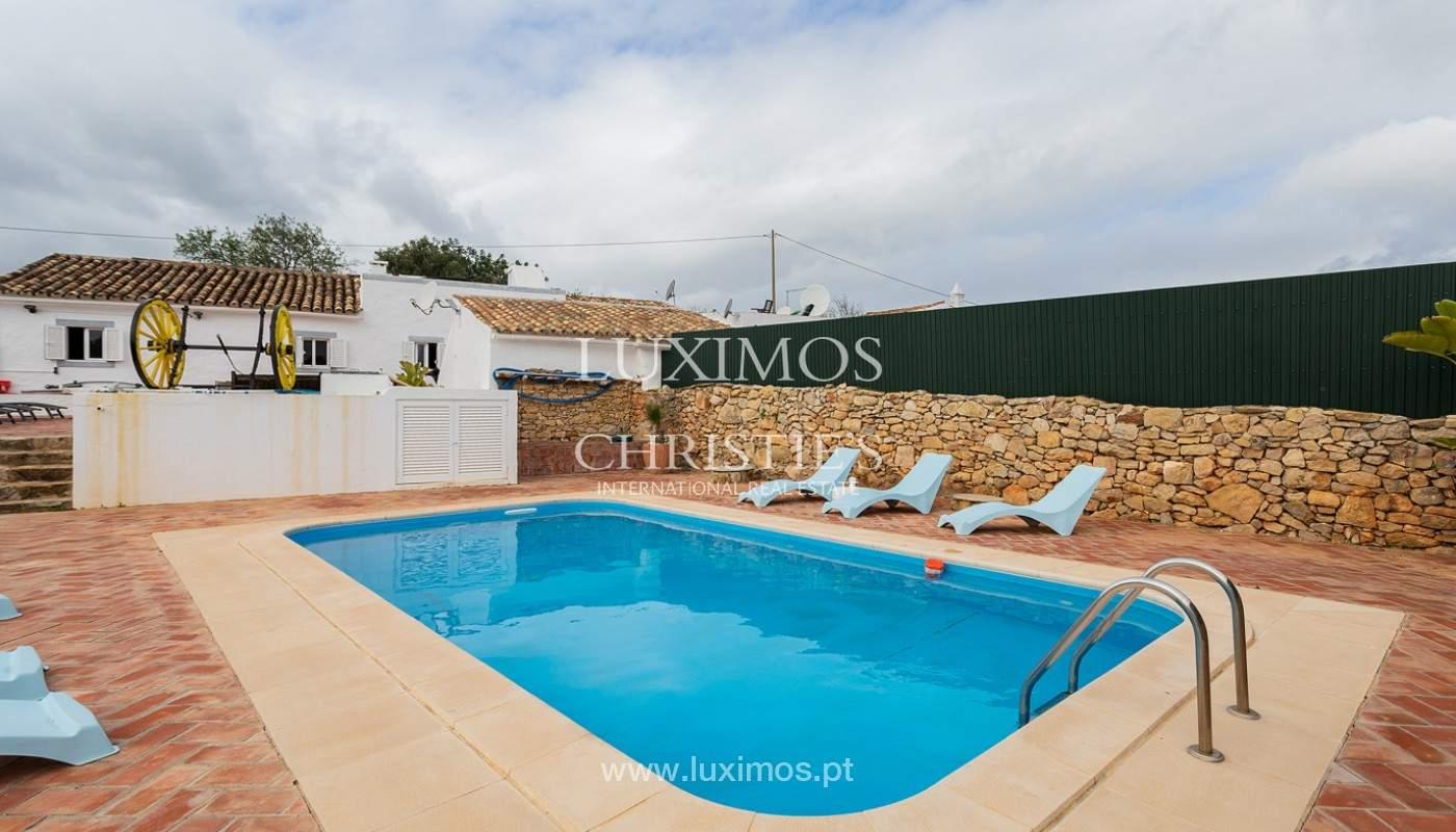 Moradia rústica com piscina e vista serra, Estói, Faro, Algarve_159159