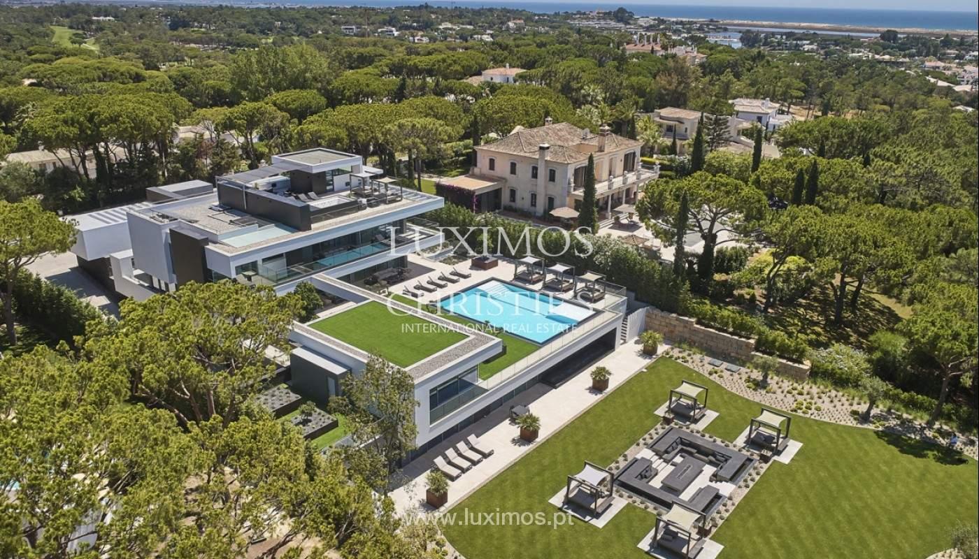 Luxuriöse V8 Villa mit Blick auf die Ria Formosa, Quinta do Lago, Algarve_159246