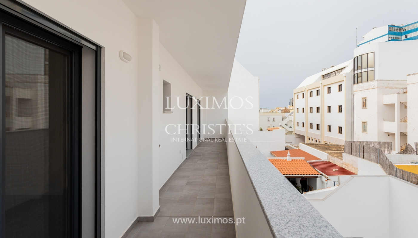 Modernes 4-Zimmer-Apartment, mit teilweisem Blick auf die Ria Formosa, Faro, Algarve_159449