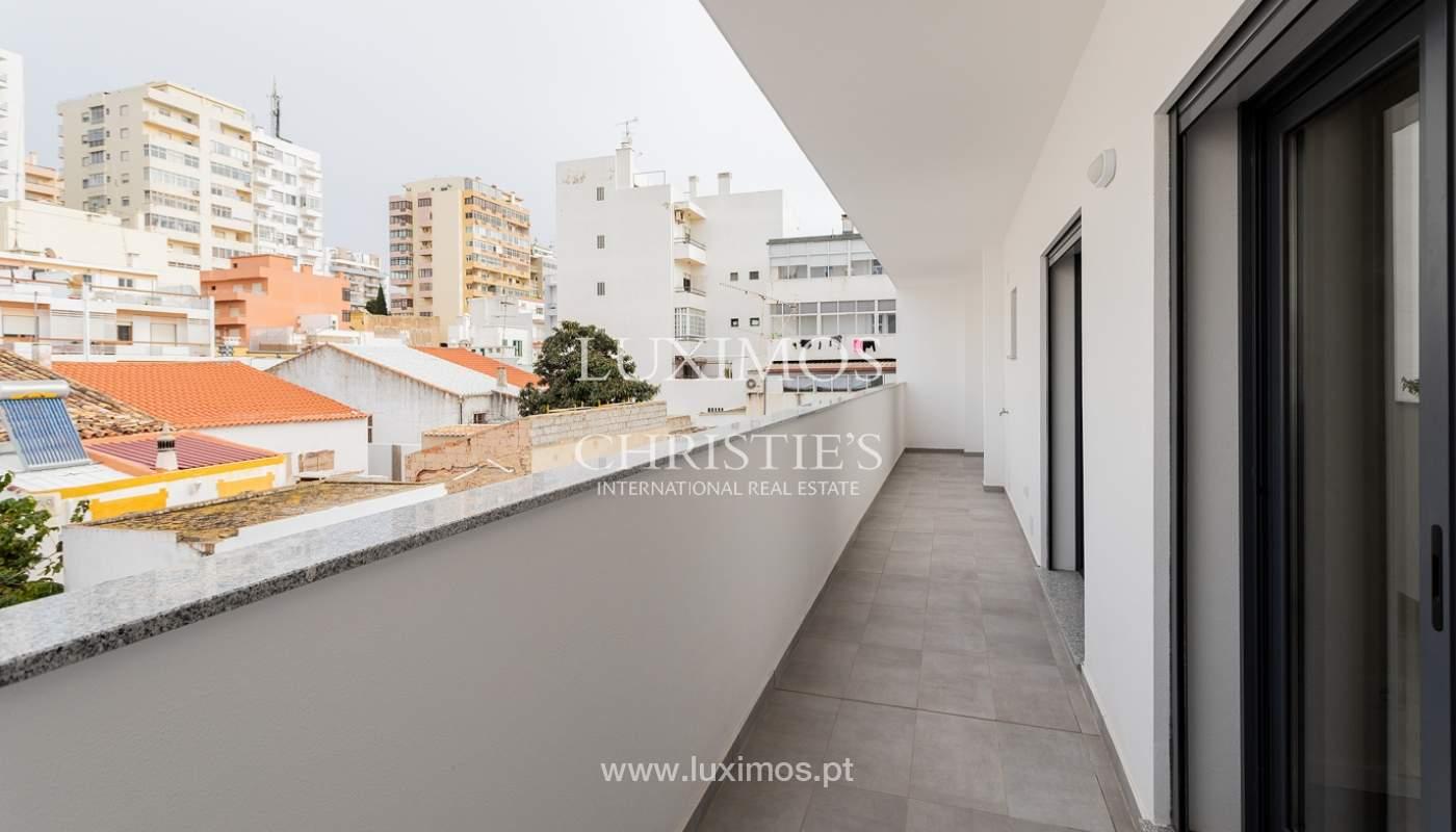 Modernes 4-Zimmer-Apartment, mit teilweisem Blick auf die Ria Formosa, Faro, Algarve_159450