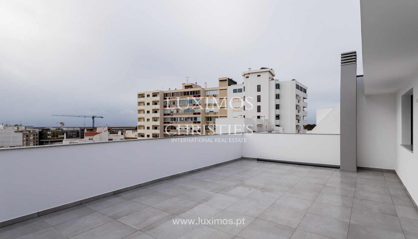 Penthouse T4, with private roof top and view to Ria Formosa, Faro, Algarve_159499