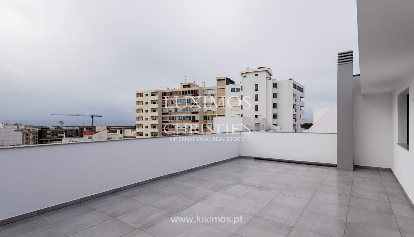 Penthouse T4, com roof top privado e vista para a Ria Formosa, Faro, Algarve_159499