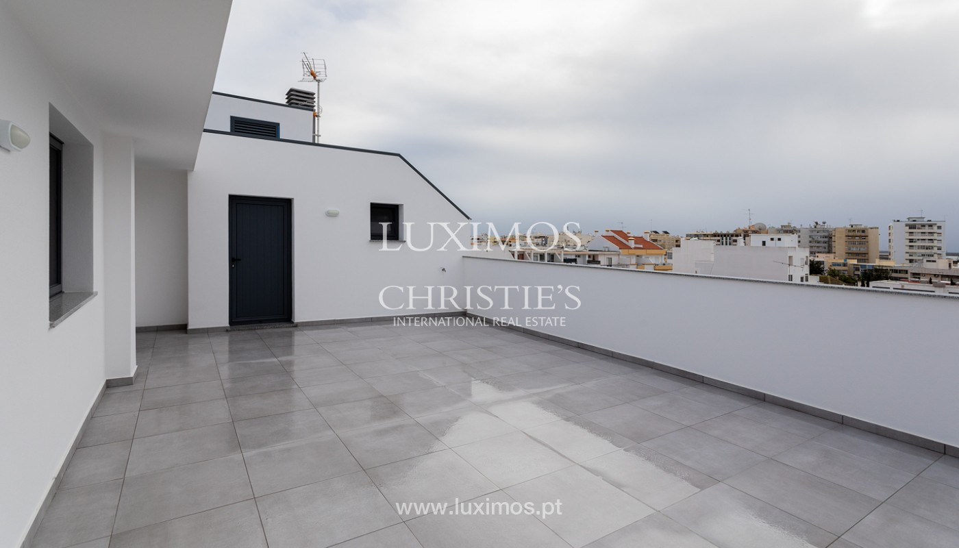 Penthouse T4, with private roof top and view to Ria Formosa, Faro, Algarve_159500