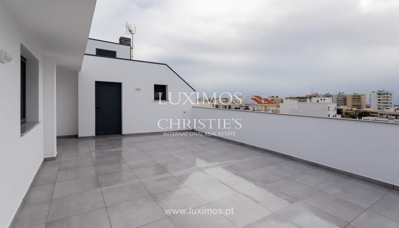Penthouse T4, com roof top privado e vista para a Ria Formosa, Faro, Algarve_159500