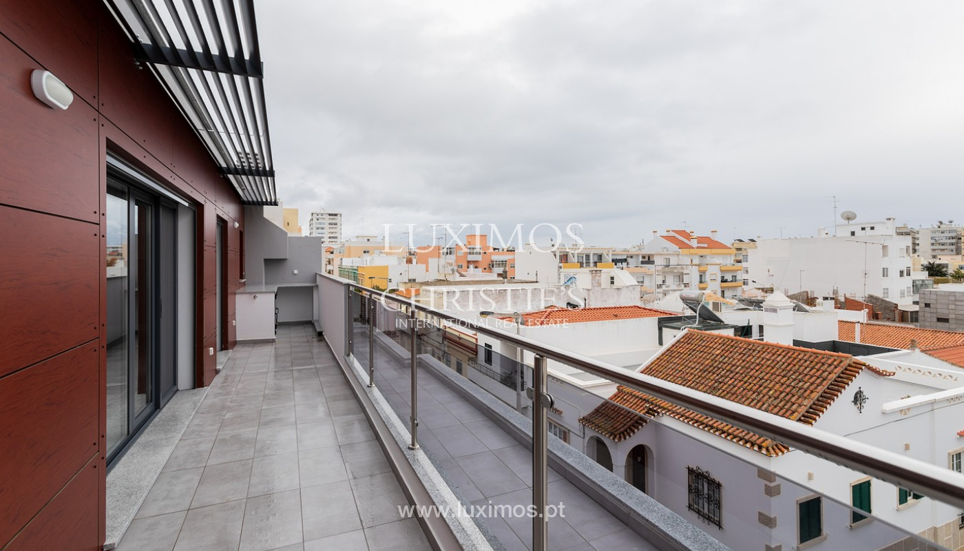 Penthouse T4, with private roof top and view to Ria Formosa, Faro, Algarve_159501