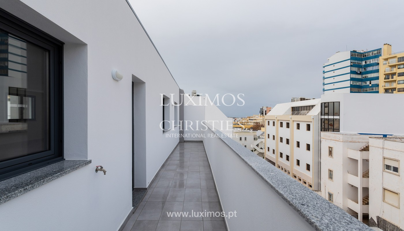 Penthouse T4, with private roof top and view to Ria Formosa, Faro, Algarve_159502