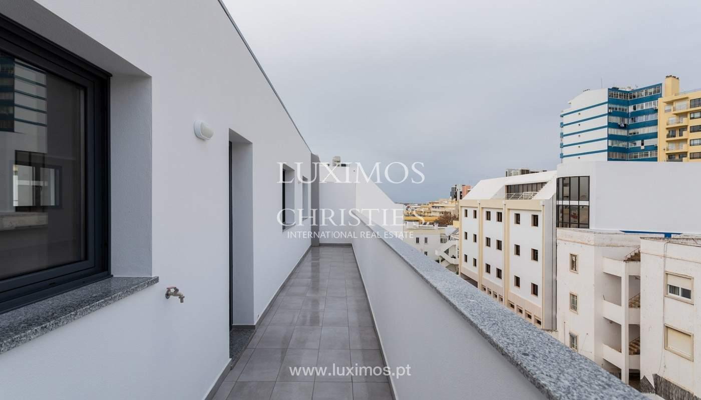 Penthouse T4, com roof top privado e vista para a Ria Formosa, Faro, Algarve_159502