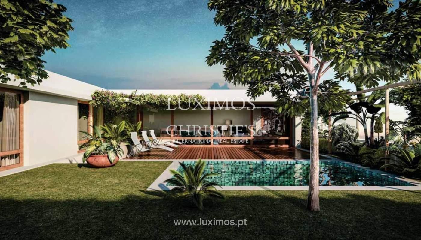 Maison avec piscine et jardin en construction, à vendre, à Foz, Porto, Portugal_159527