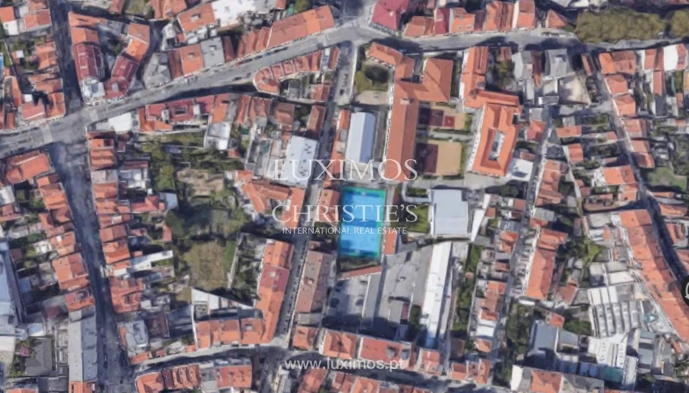 Terreno com projeto aprovado, para venda, no Centro do Porto_159558