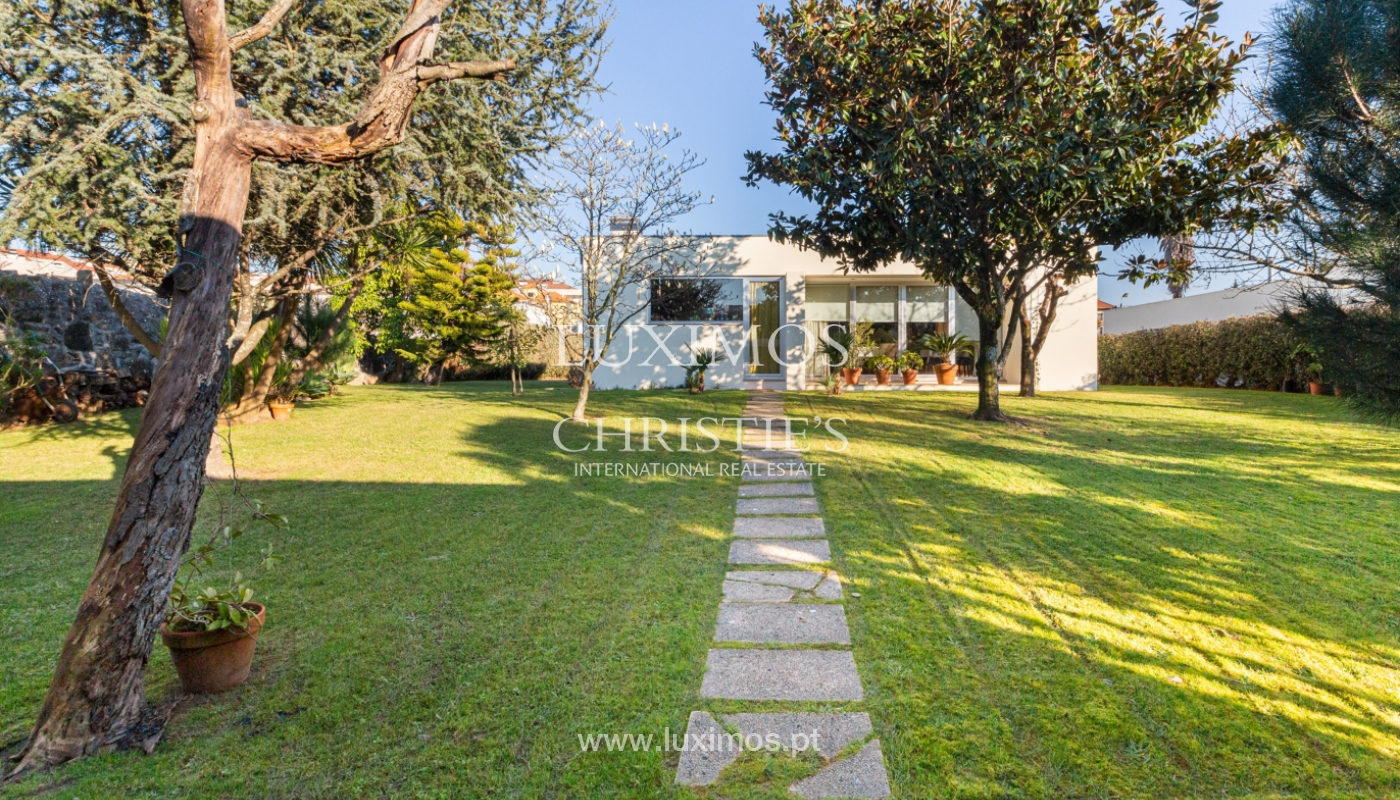 Contemporary house with garden, for sale, in Vila Nova de Gaia, Portugal_159560