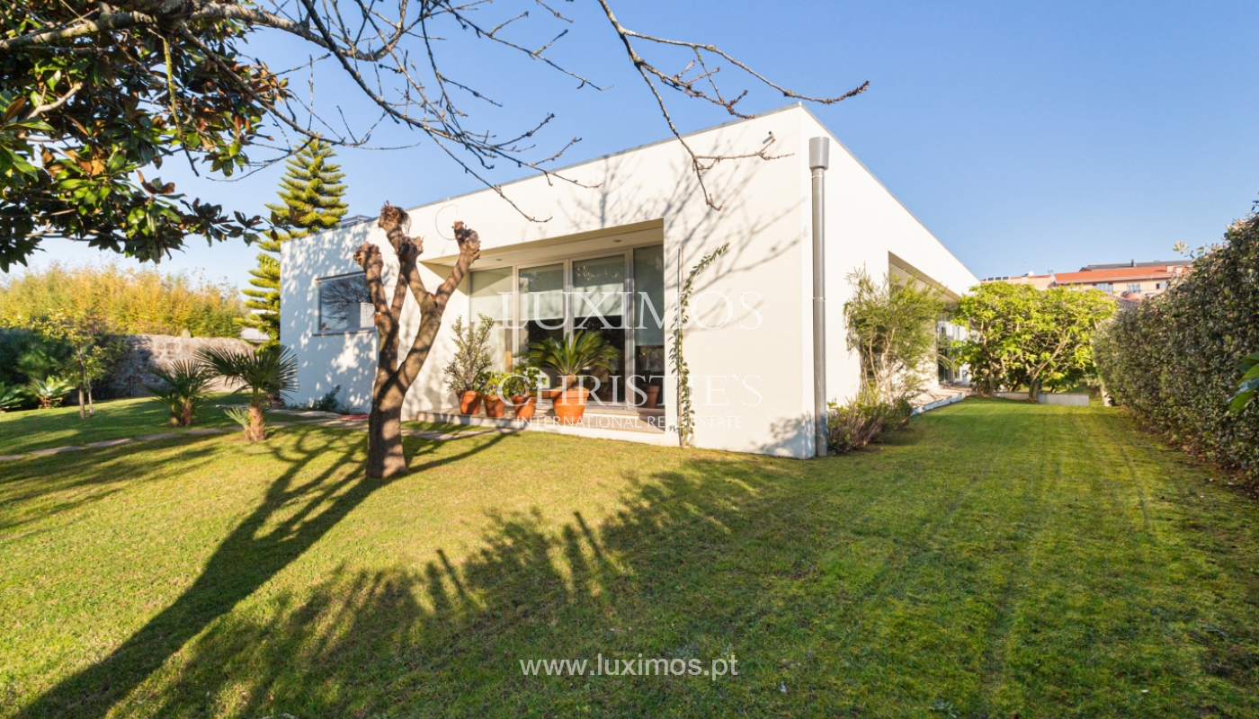 Contemporary house with garden, for sale, in Vila Nova de Gaia, Portugal_159564