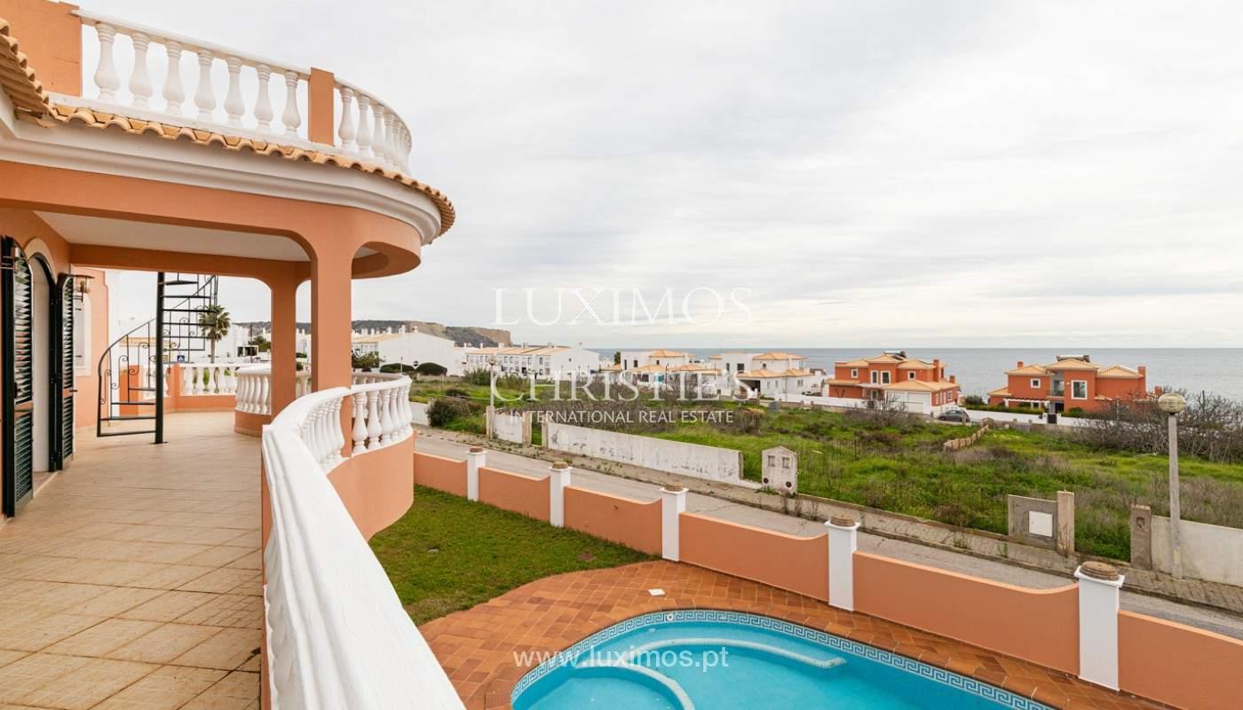 Casa de 3 habitaciones, con vista al mar, Praia da Luz, Lagos, Algarve_159691