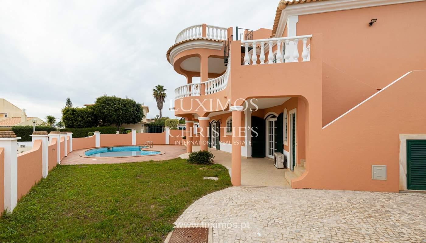 Villa with 3 Bedrooms, with sea view, Praia da Luz, Lagos, Algarve_159697
