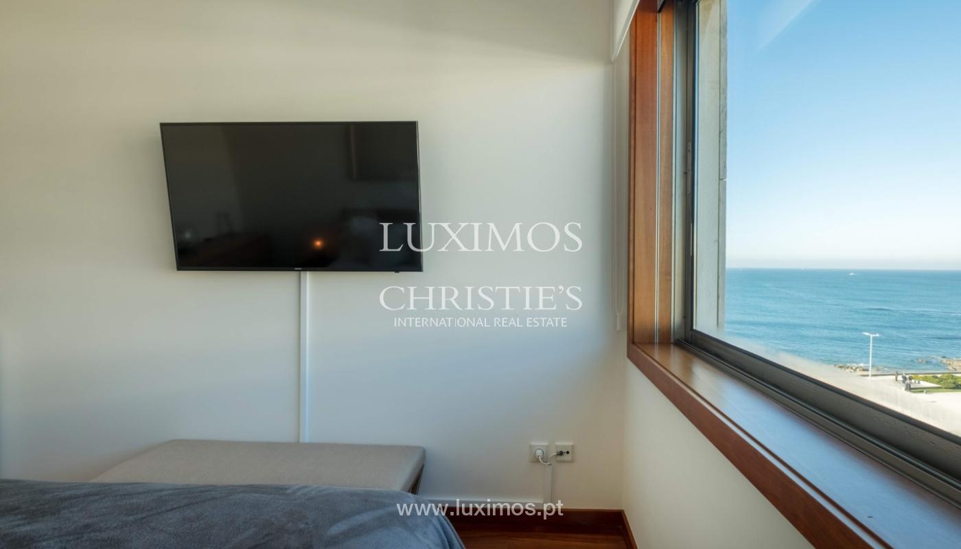 Der Verkauf der Wohnung in der 1. Zeile auf das Meer, Porto, Portugal_159700
