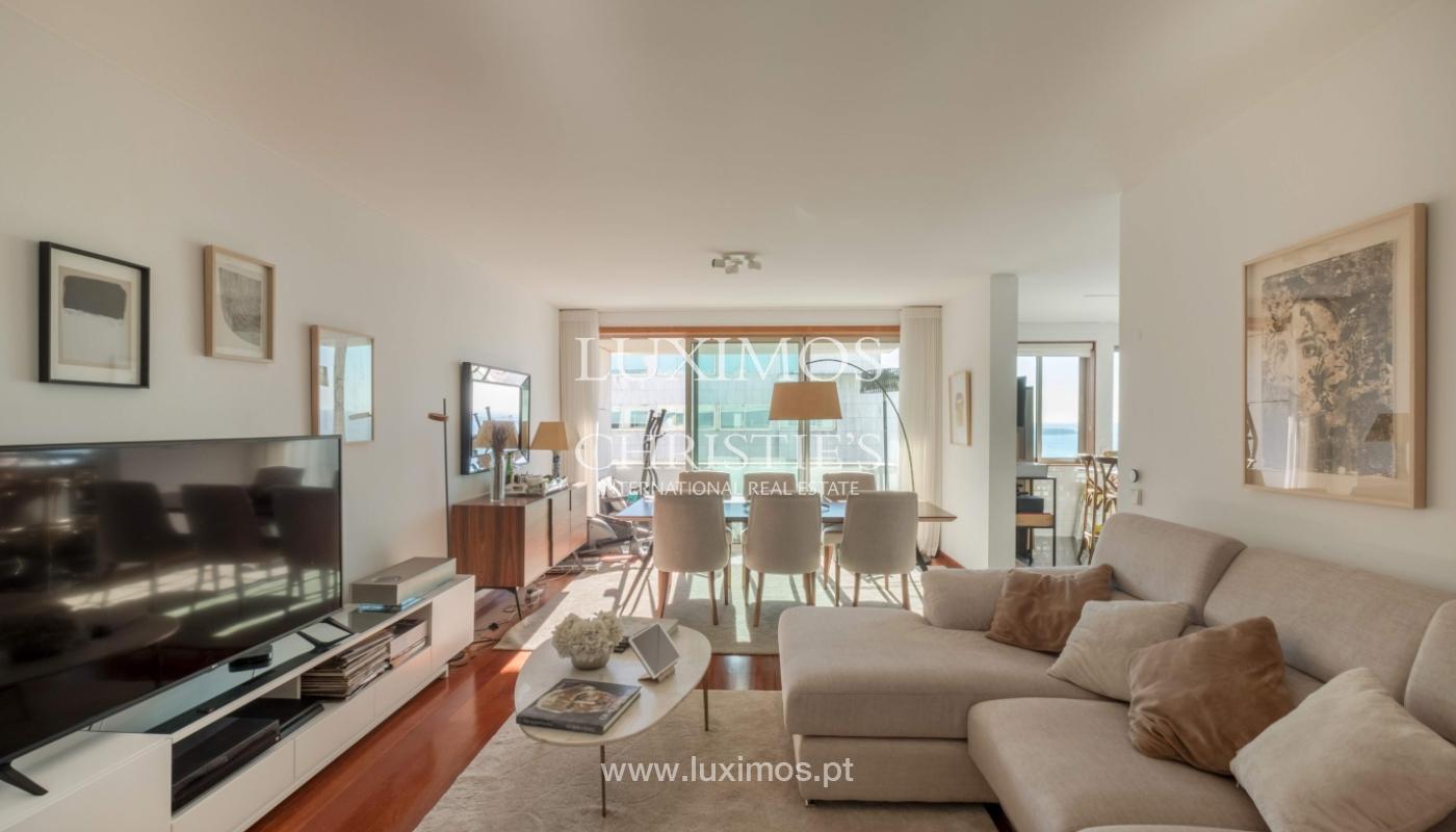Der Verkauf der Wohnung in der 1. Zeile auf das Meer, Porto, Portugal_159724