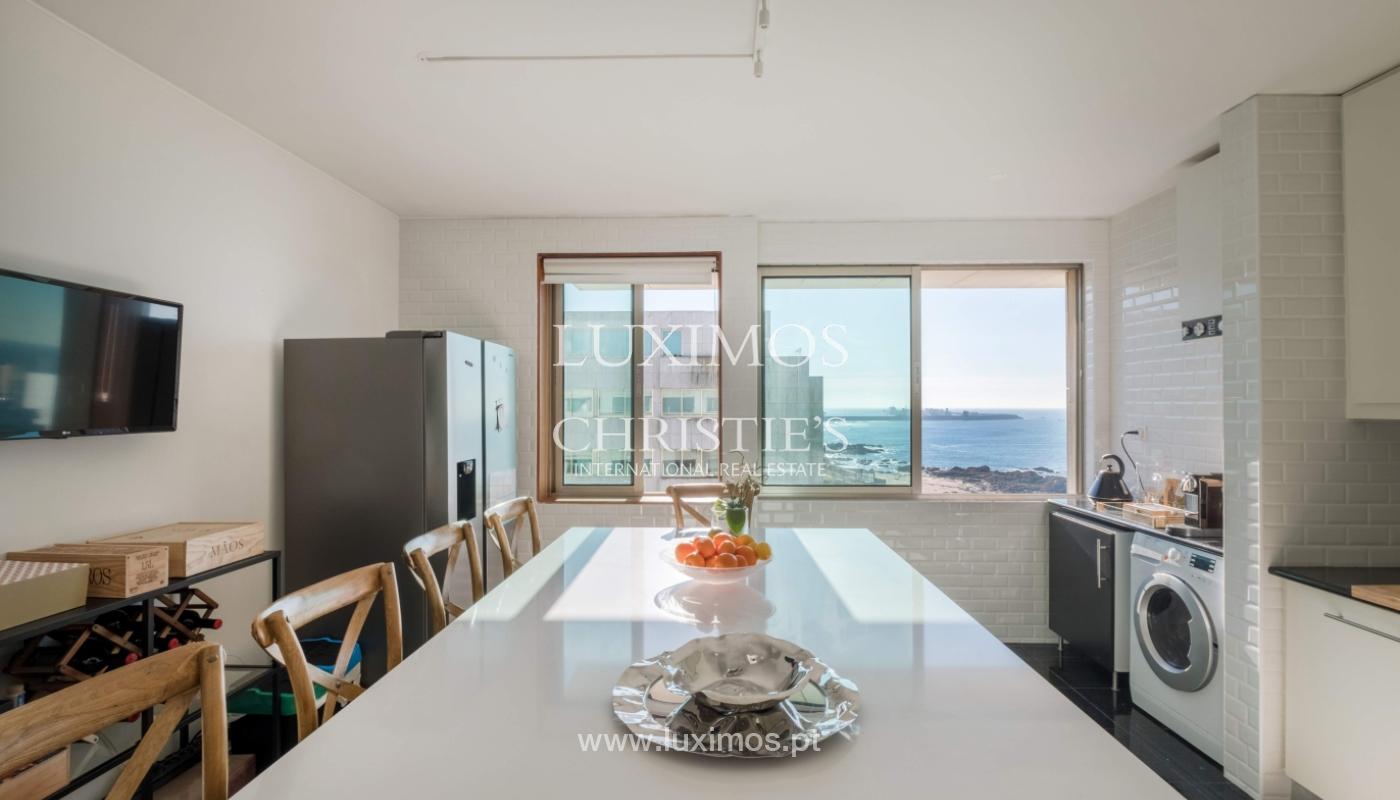 Der Verkauf der Wohnung in der 1. Zeile auf das Meer, Porto, Portugal_159733