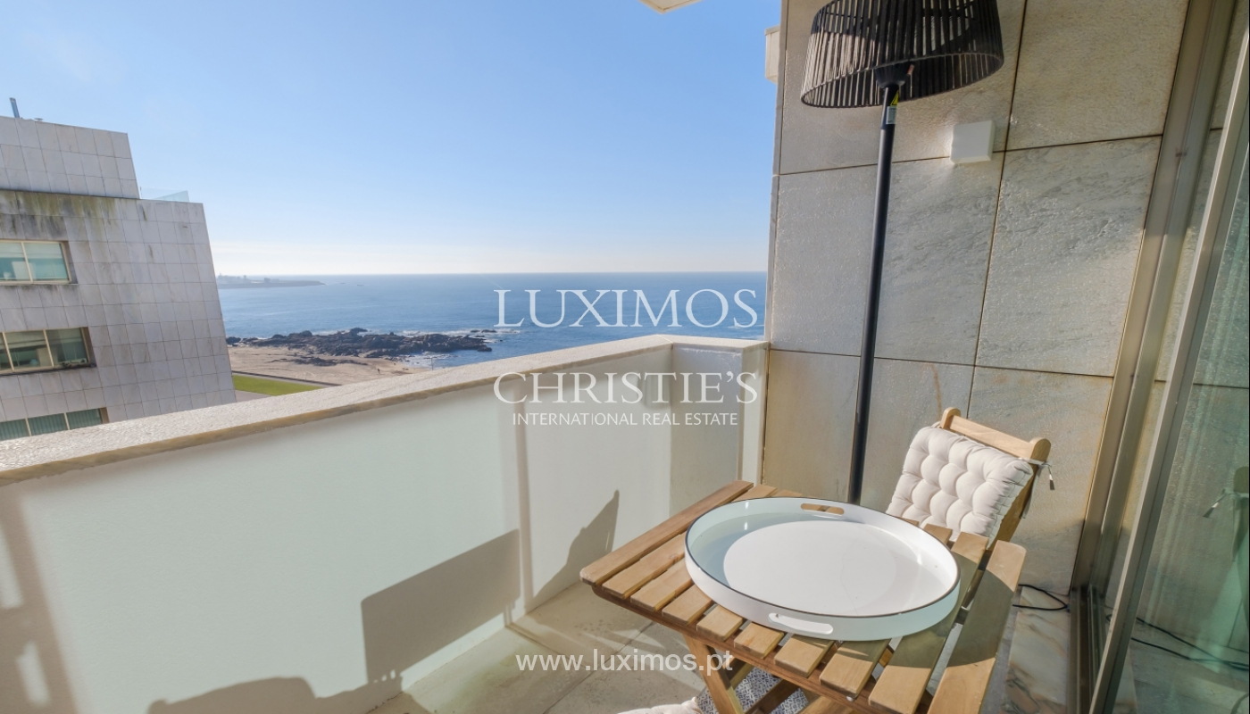 Der Verkauf der Wohnung in der 1. Zeile auf das Meer, Porto, Portugal_159736