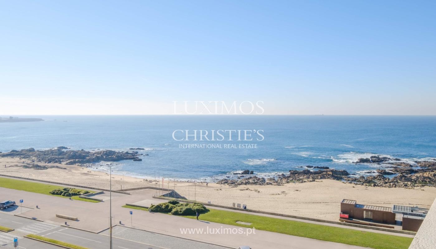 Der Verkauf der Wohnung in der 1. Zeile auf das Meer, Porto, Portugal_159738