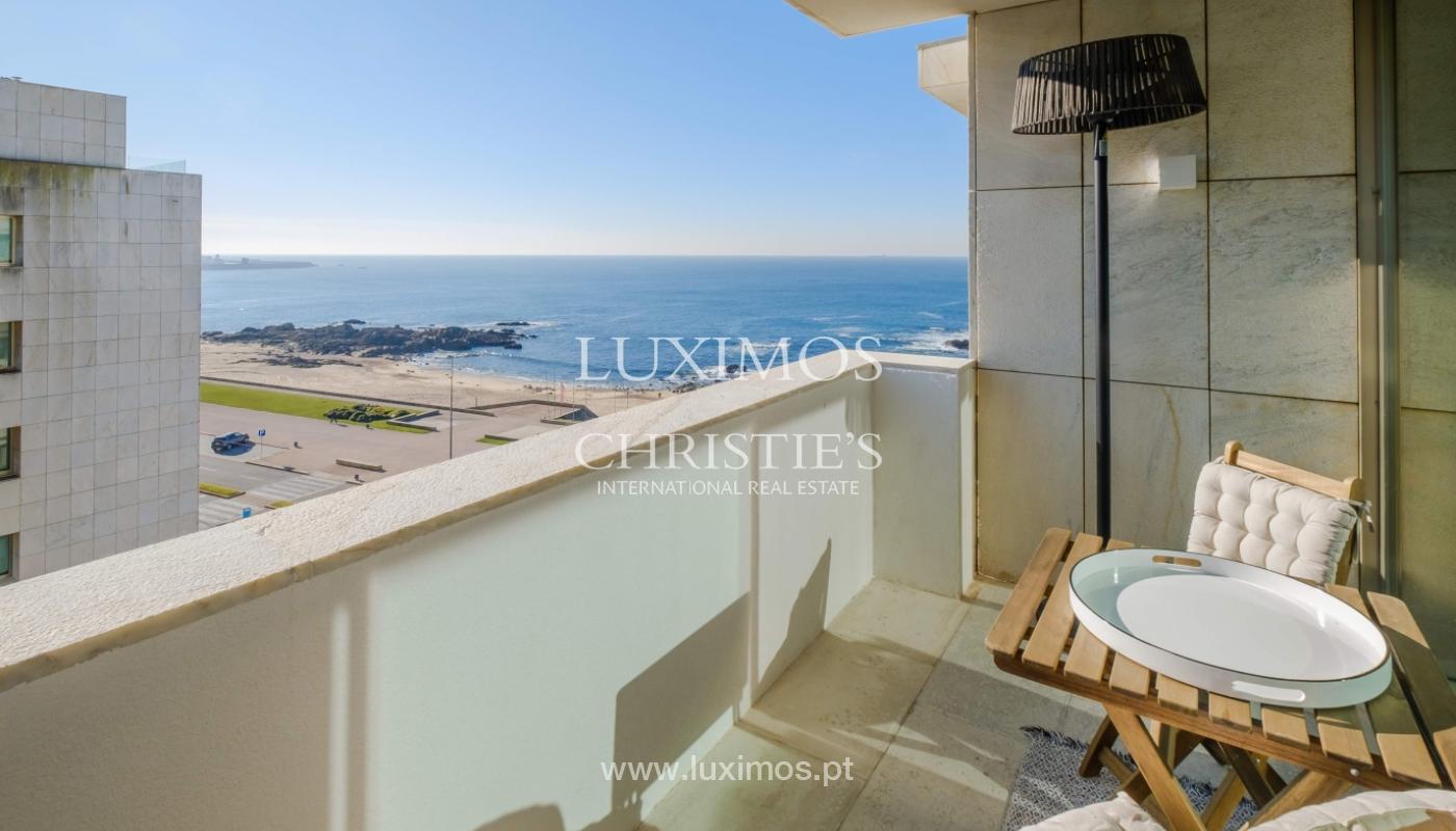 Der Verkauf der Wohnung in der 1. Zeile auf das Meer, Porto, Portugal_159739