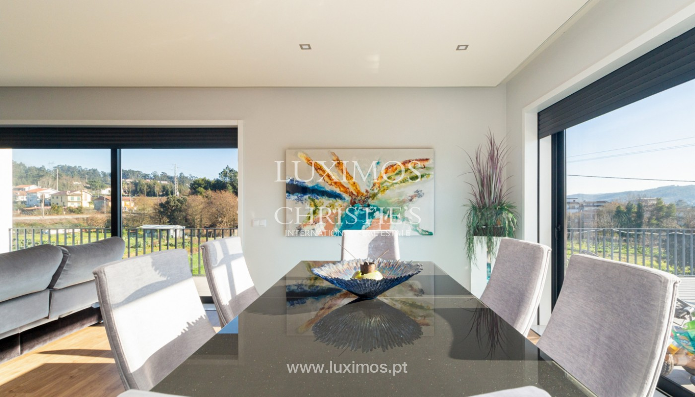 Contemporary house with swimming pool and garden, for sale, in Paredes, North of Portugal_159935
