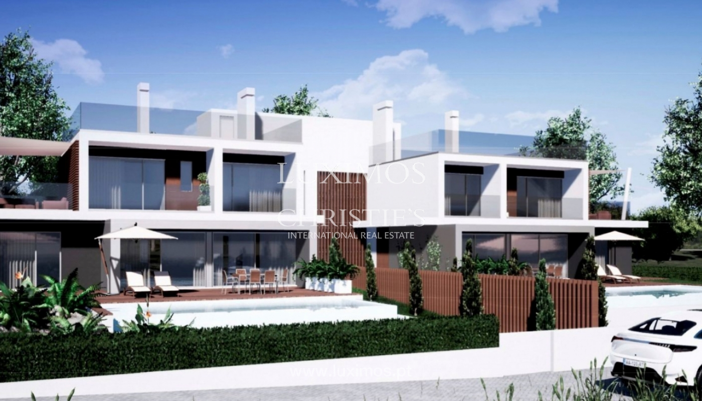 Terrain avec projet de construction de 2 maisons, Almancil, Algarve_160159